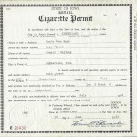Permit to Sell Cigarettes, Don's Beer Mart 1982