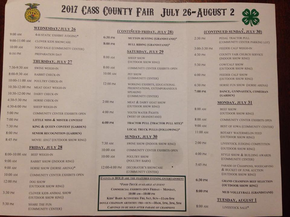 Cass Co Fair 2017